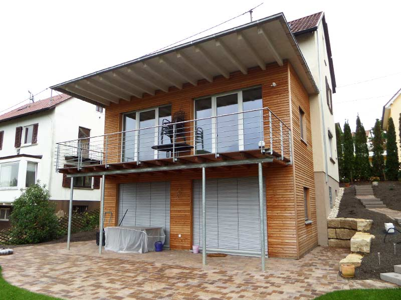 terassen und balkone dangel holzbau. Black Bedroom Furniture Sets. Home Design Ideas