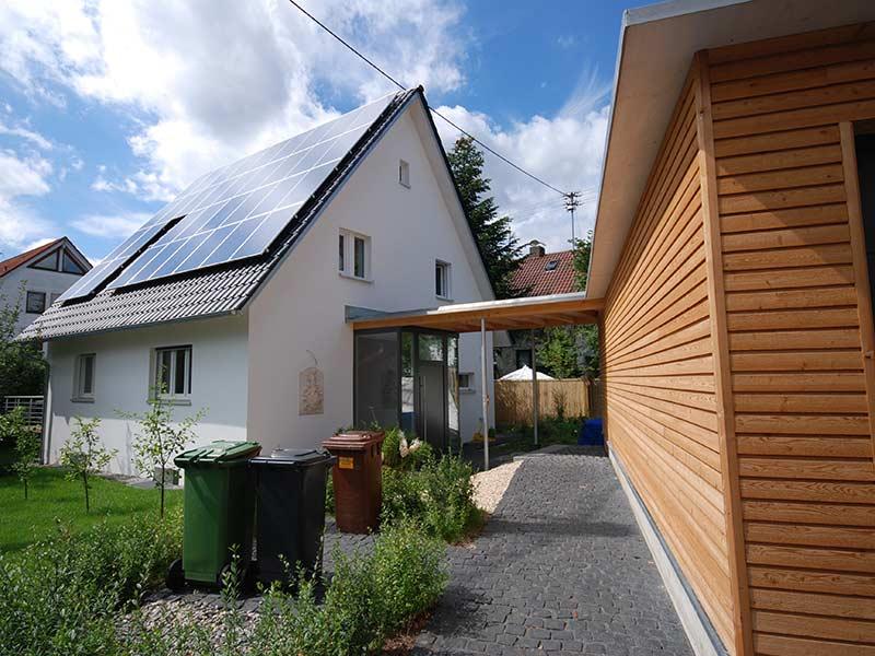 Extrem Sanierung und Anbau einer Garage | Dangel Holzbau OH24