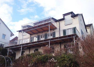 Anbau Balkone an einer Stadtvilla