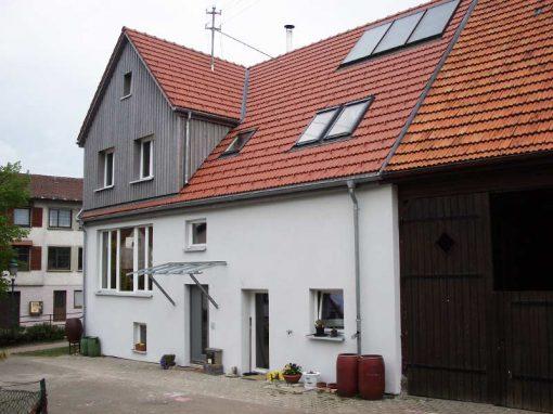 Dachsanierung – Bauernhaus